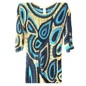 DVF  crochet dress